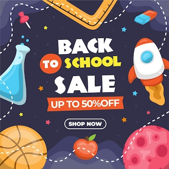 Back to school sales with special offer