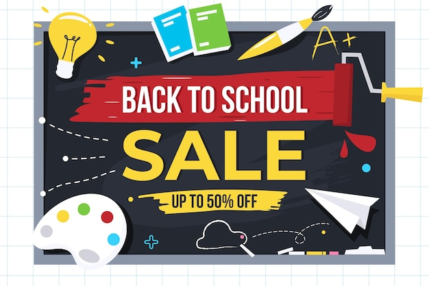 Back to school sales