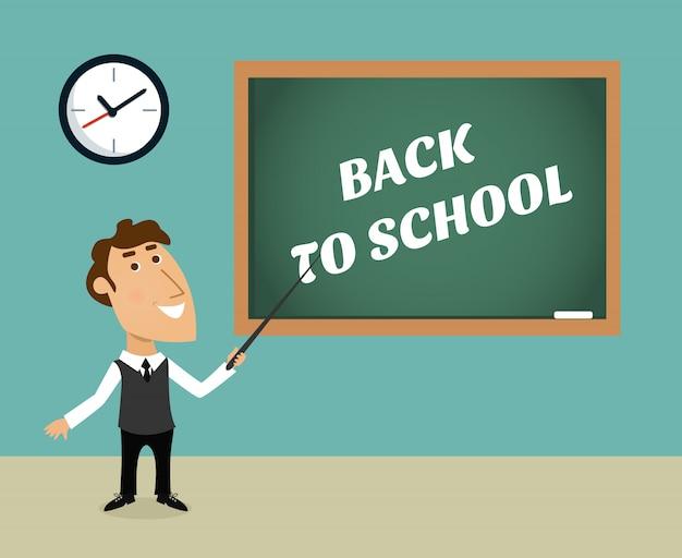 Back to school scene