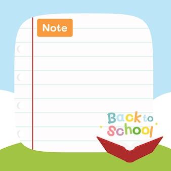 Back to school ,school border