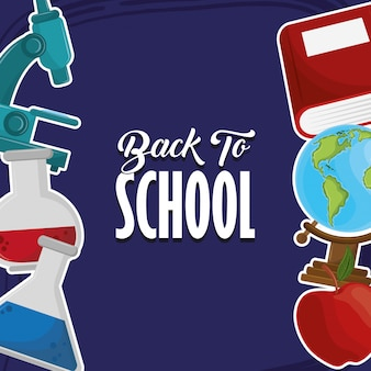 Back to school season card