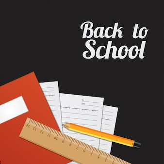 Back to school template background