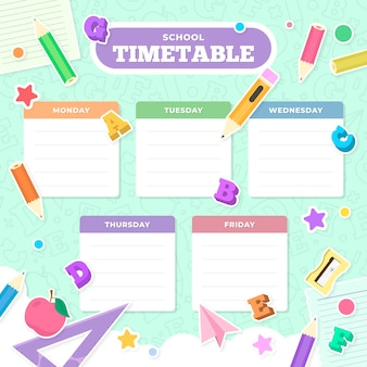 Torna alla progettazione dell'orario scolastico