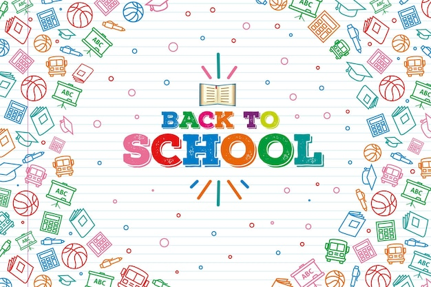 Back to school wallpaper