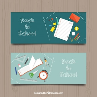 Back to school with beautiful banners