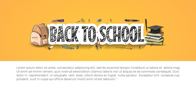 Back tback to school accesories
