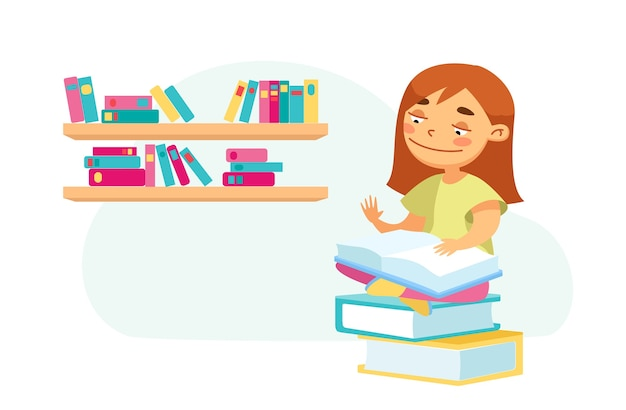 学校に戻ると知識の概念