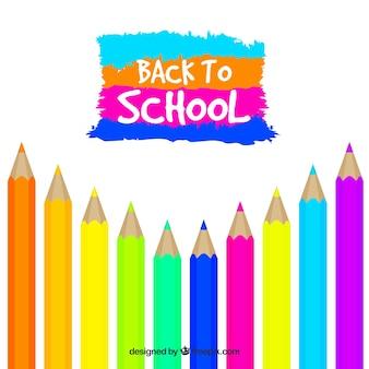 Снова в школу с карандашами