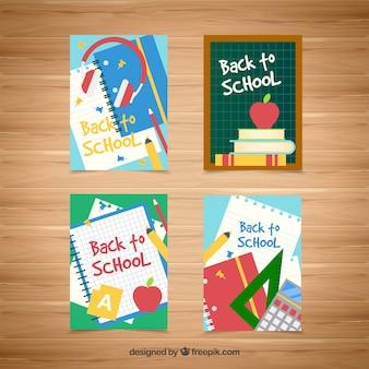 Вернуться к коллекции школьных карт с плоским дизайном