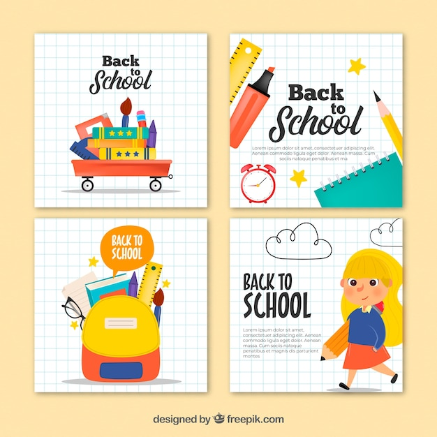 Surprising Free Back To School Cards Collection Svg Dxf Eps Png Logo Svg Funny Birthday Cards Online Fluifree Goldxyz