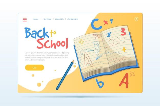 Вернуться к шаблону целевой страницы школы