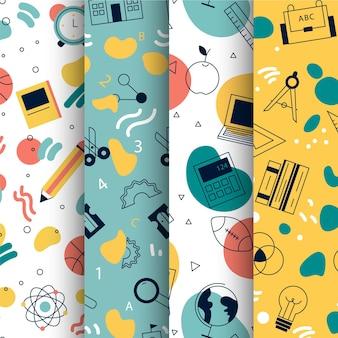 新学期パターンコレクションテーマ