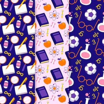 학교 패턴 컬렉션으로 돌아 가기