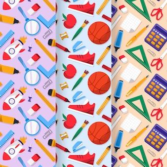 학교 패턴 컬렉션으로 돌아가기