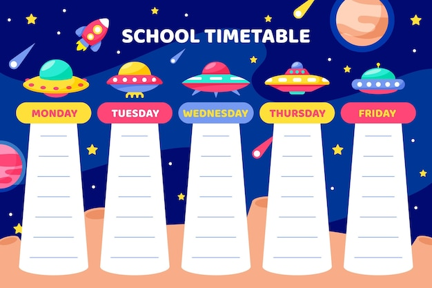 Вернуться к дизайну расписания школы