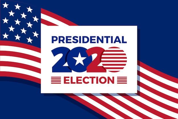 Background 2020 elezioni presidenziali americane