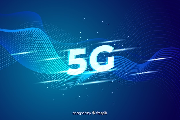 Background 5g concept