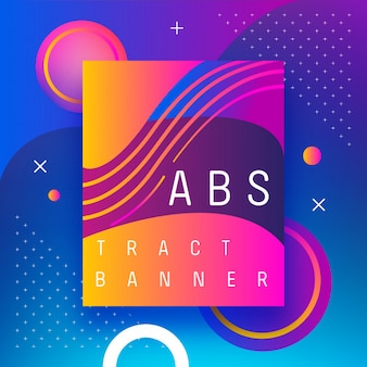 Background abstract banner