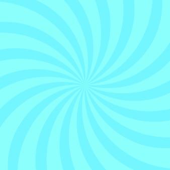 背景抽象的な青い曲線