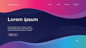 Background abstract curve light for Homepage