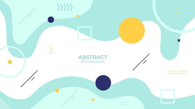 Background abstract design soft color with geometric object, soft decorative design in abstract style