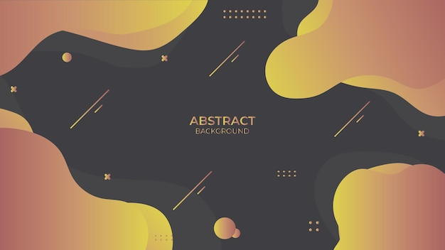 Background abstract fluid design with geometric object, dynamic decorative design in abstract style