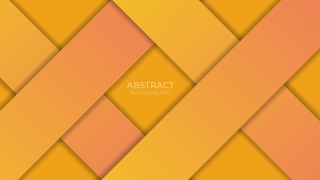 배경 추상적인 기하학적 오렌지 그라데이션 색상입니다. 벡터 일러스트 레이 션