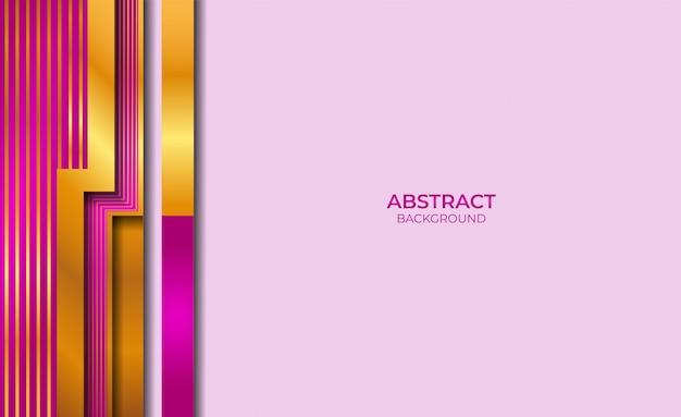 Фон абстрактный золотой и фиолетовый стиль