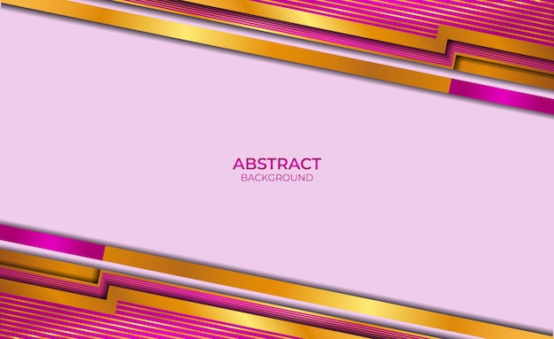 Background abstract style gold and purple