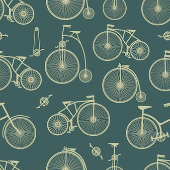 Background bicycle seamless