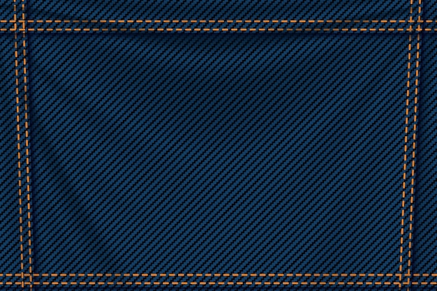 Background blue denim