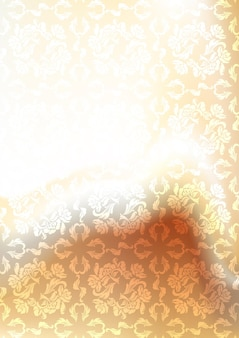 Размытие фона с орнаментом, eps10