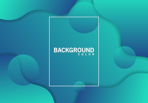 Background color fluid abstract vector
