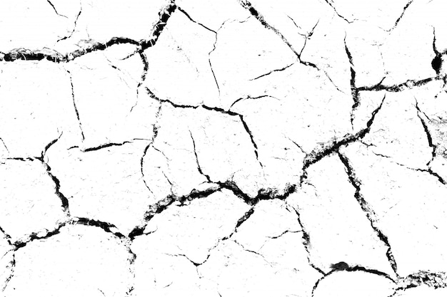 Background of cracks, scuffs, chips.