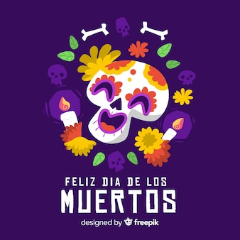 Background for day of the dead event