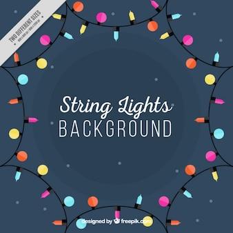Background of decorative lights