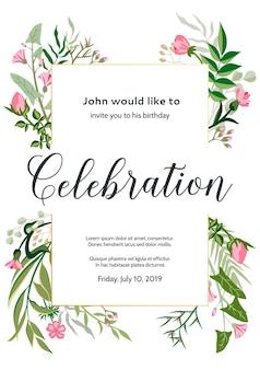 装飾、グリーティングカード、名刺または招待状の装飾のための背景デザイン。
