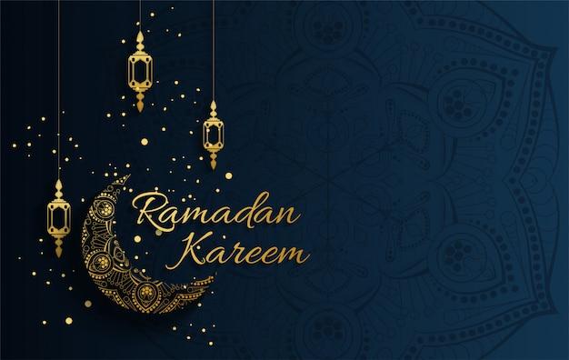 イスラム教徒の祭りeid mubarakの背景デザイン。ラマダンカリーム、白いモスク要素のアラビア語書道デザイン。イードアルアドハの挨拶