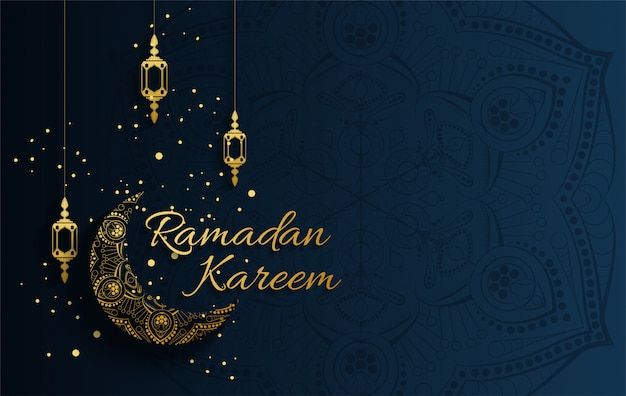 Background design for muslim festival eid mubarak. arabic calligraphy design for ramadan kareem, white mosque element. eid-al-adha greeting