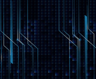 Background design with blue and black theme