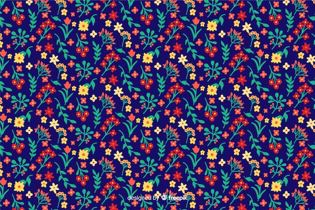 Background ditsy floral