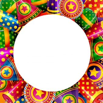 Background of diwali crackers