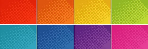 Фоновый пунктирный набор шаблонов