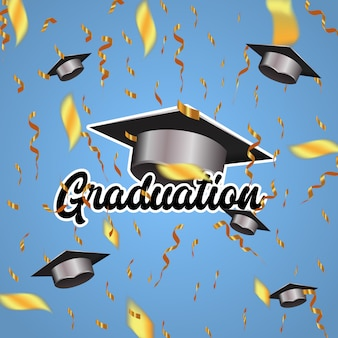 Background elegant graduation