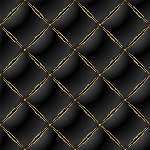 Background of elegant quilted pattern