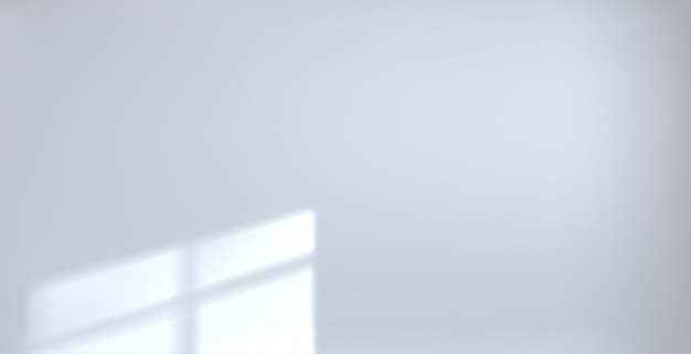 Background empty white room beam