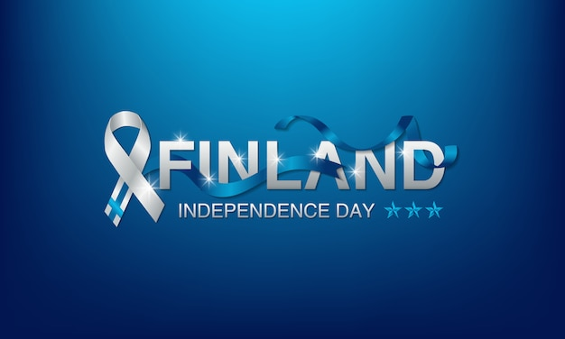 Background finland independence day