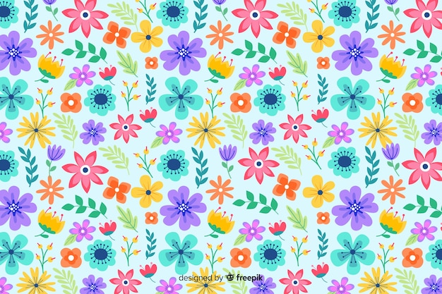 Background floral ditsy