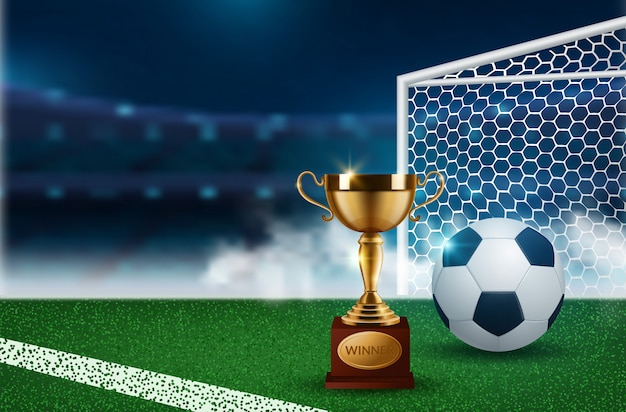 Фон для футбольного чемпионата
