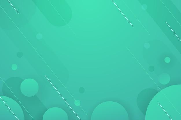 背景グラデーション緑のトーンの背景